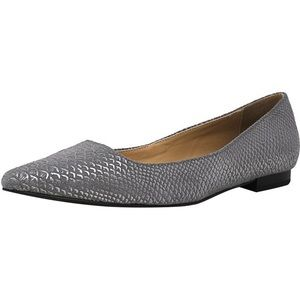 New! H by Halston Lucille flats size 6 gray